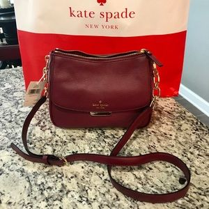 NWT Kate Spade Leather Crossbody